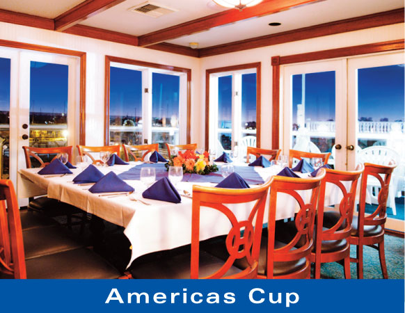 Americas Cup - Newport Landing