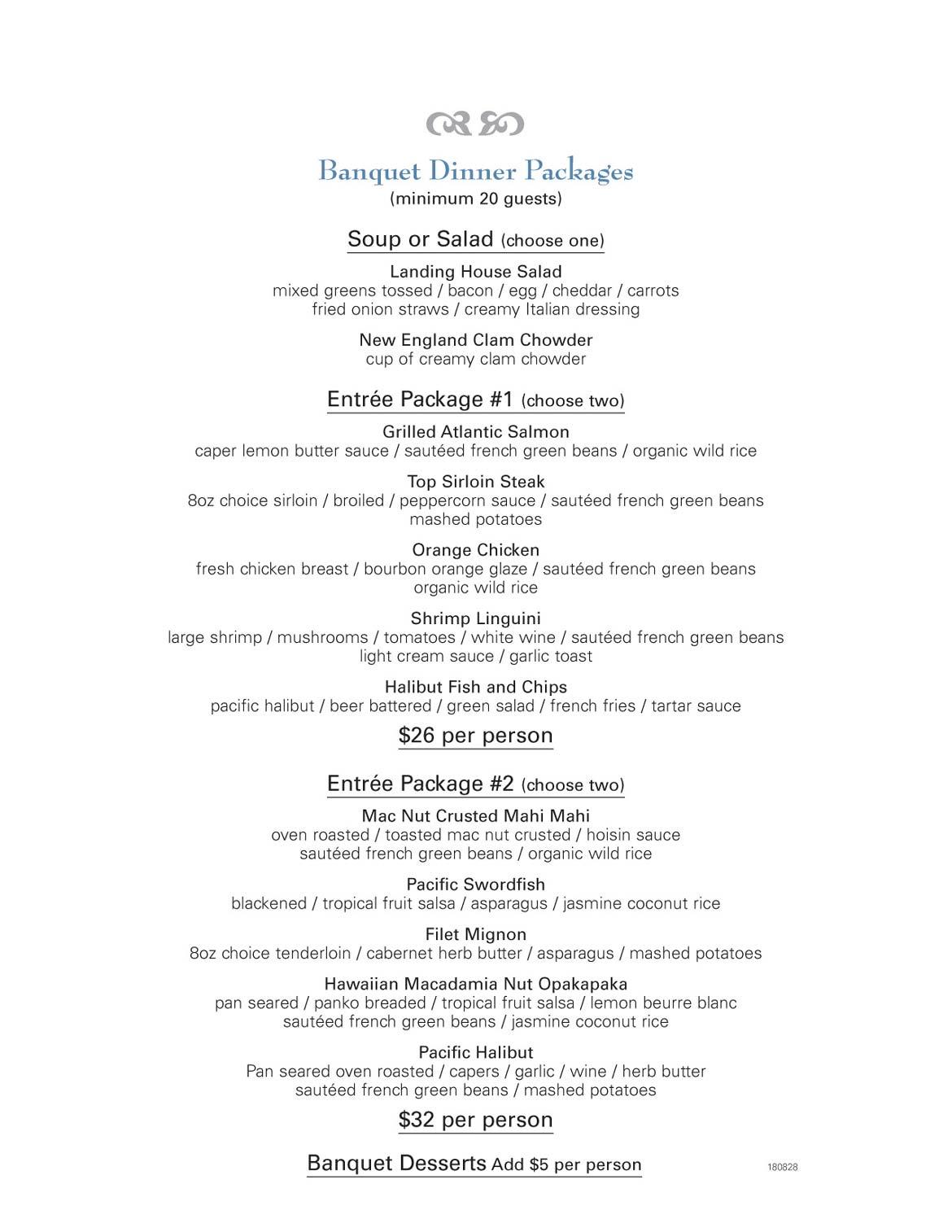 Dinner - Newport Landing