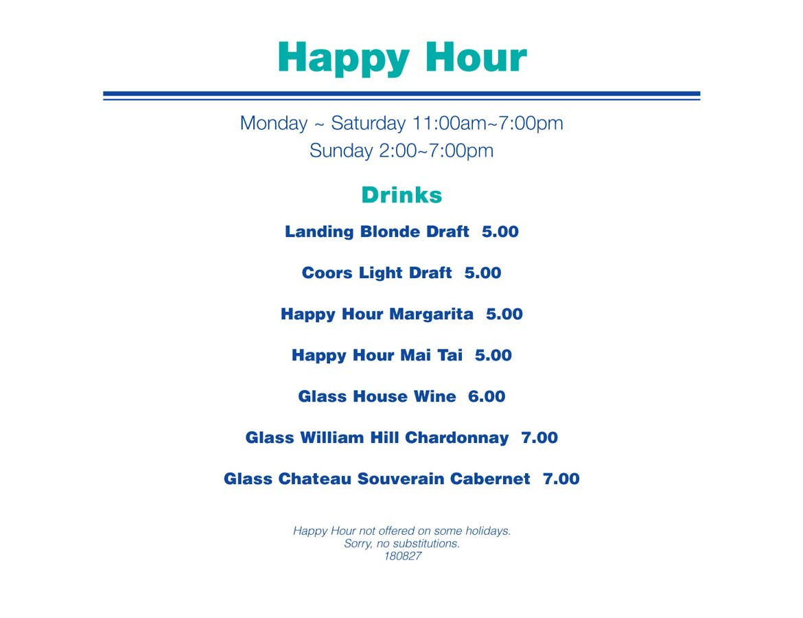 Happy hour - Newport Landing