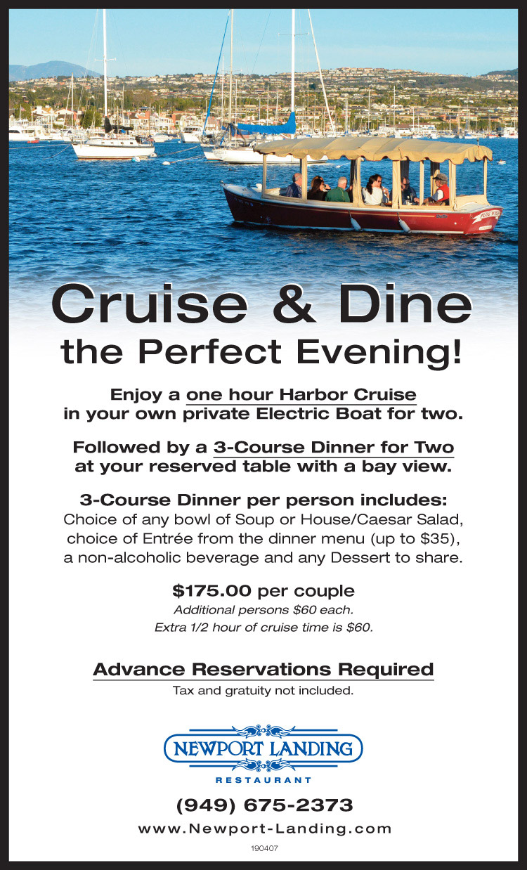 Cruise & dine - Newport Landing