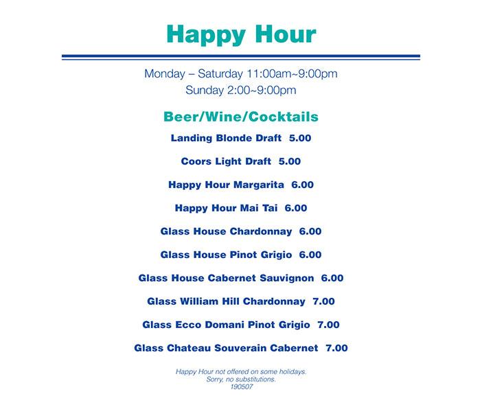Happy hour - Newport Landing
